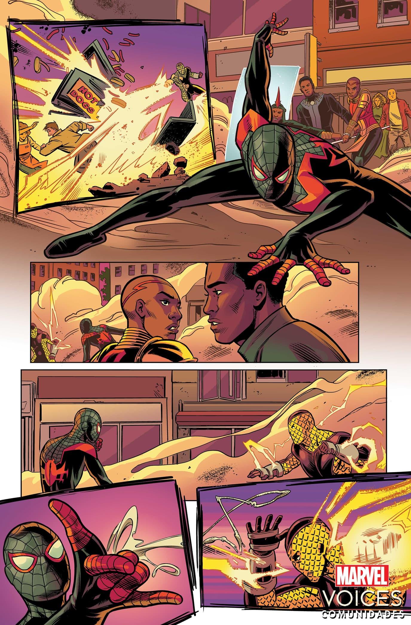 Marvel's Voices: Comunidades #1 Interior Art