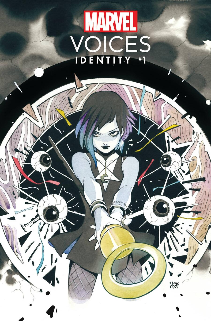 MARVEL'S VOICES: IDENTITY #1 Variant Cover by PEACH MOMOKO