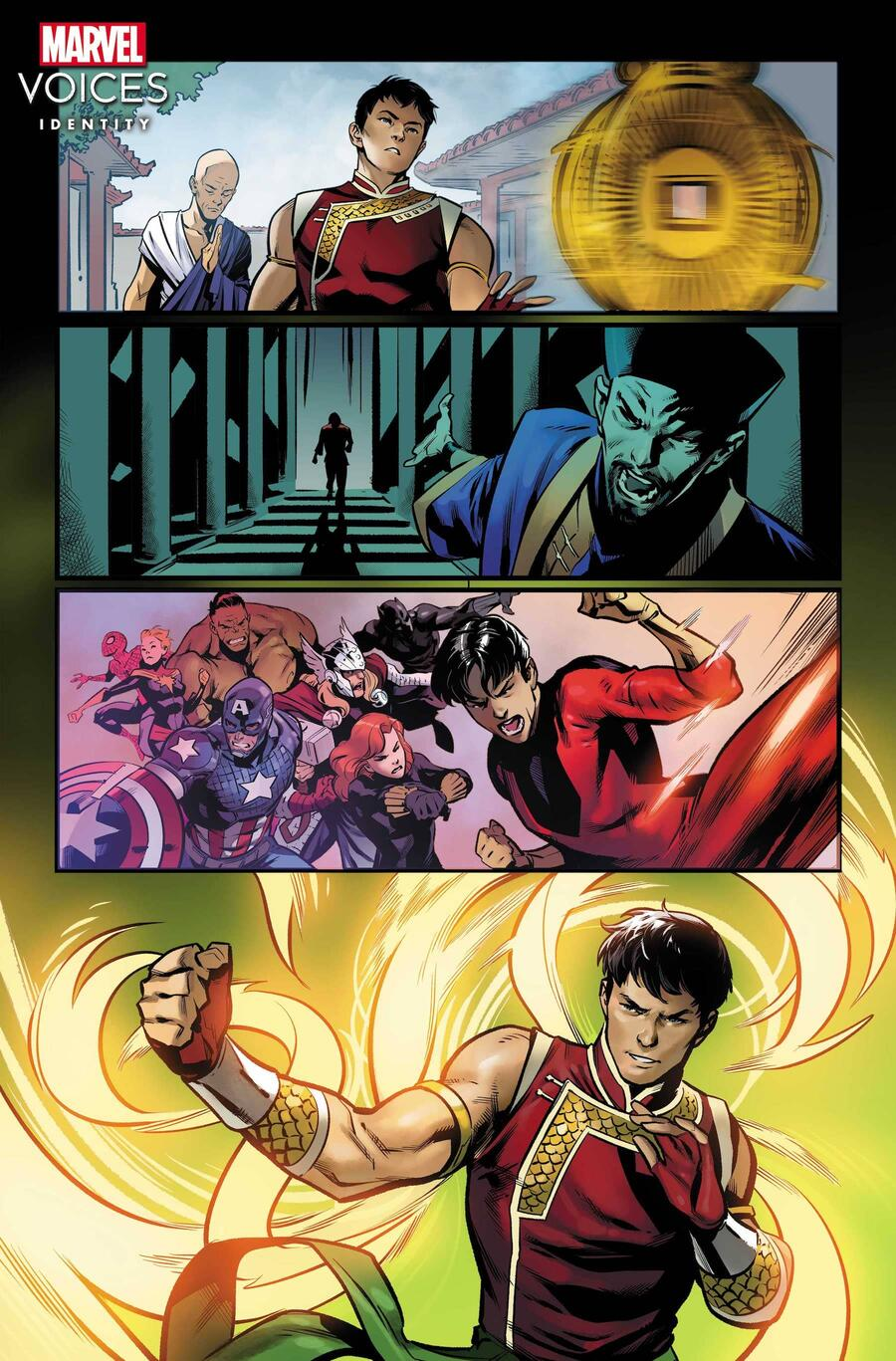 Shang-Chi Writer: Gene Luen Yang Artist: Marcus To Colorist: Sunny Gho
