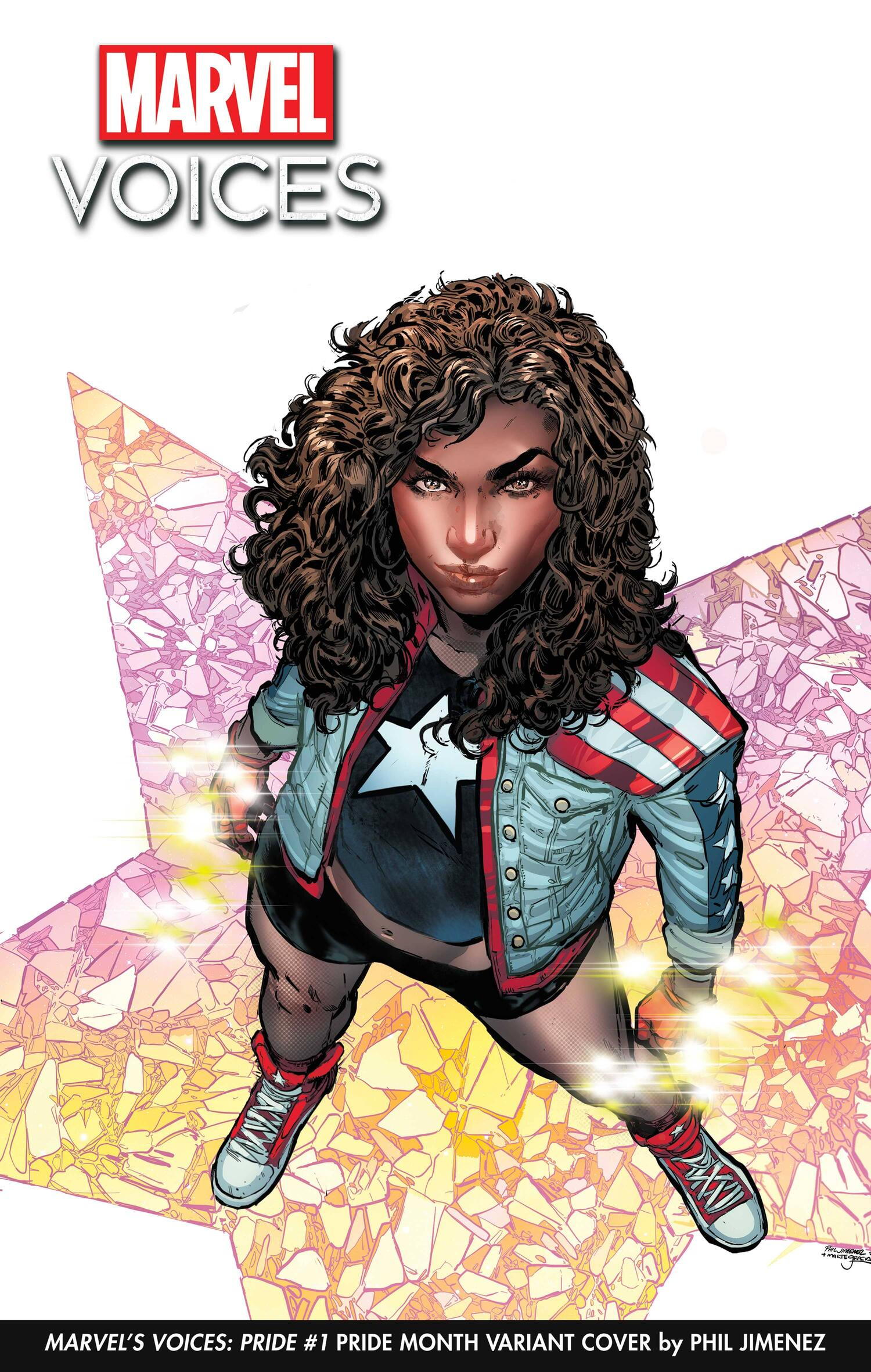 America Chavez Pride Month Variant Cover by Phil Jimenez