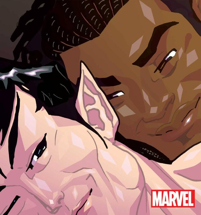MARVEL'S VOICES: PRIDE #1 preview art by JJ Kirby