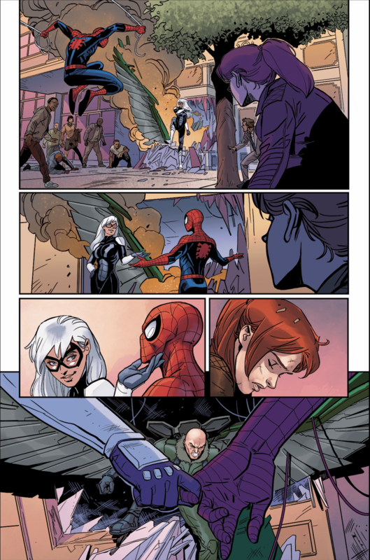 MARVEL'S SPIDER-MAN: THE BLACK CAT STRIKES #3 Preview — Art by Luca Maresca