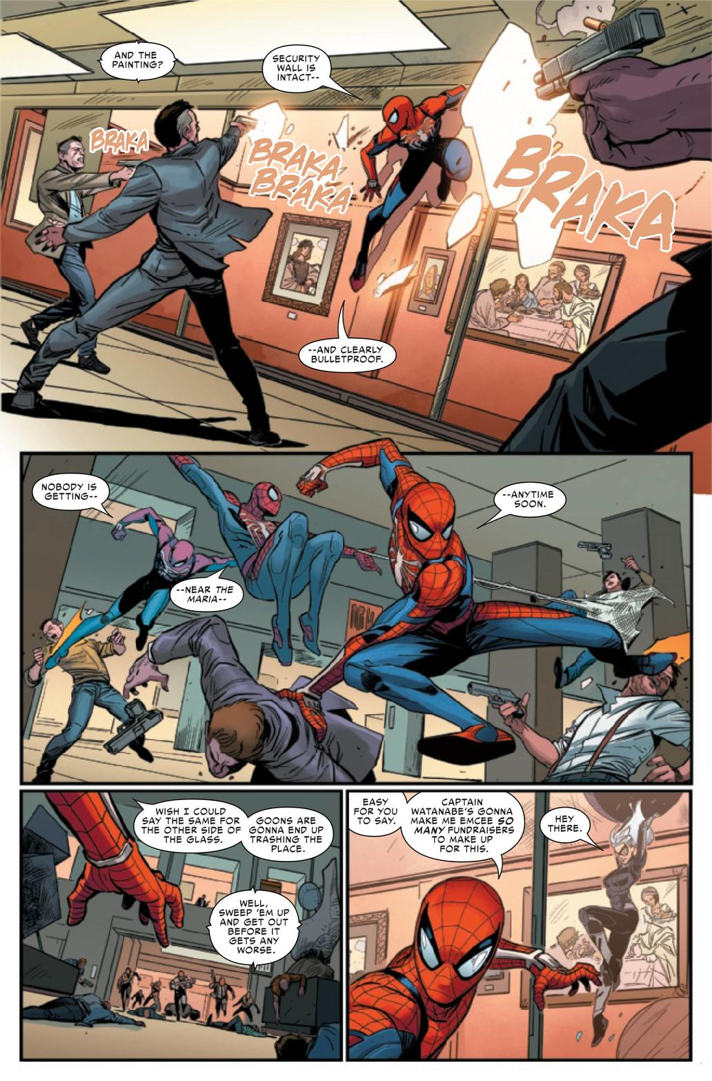 MARVEL'S SPIDER-MAN: THE BLACK CAT STRIKES #1 Preview — Art by Luca Maresca