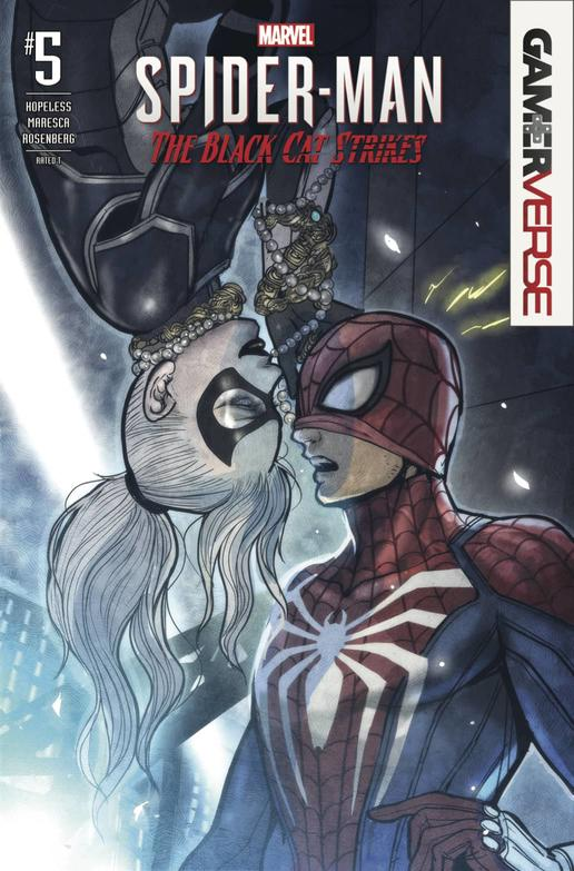 MARVEL'S SPIDER-MAN: THE BLACK CAT STRIKES #5
