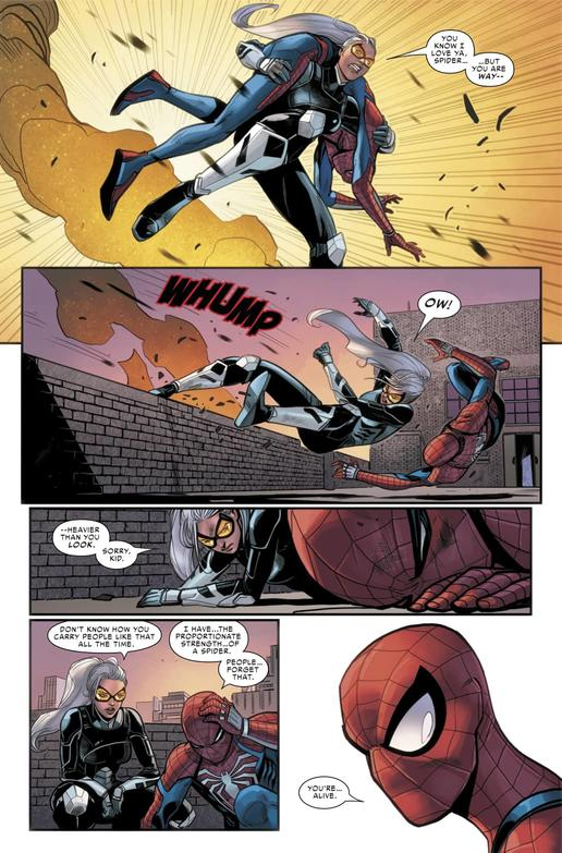 MARVEL'S SPIDER-MAN: THE BLACK CAT STRIKES #5 Preview — Art by Luca Maresca