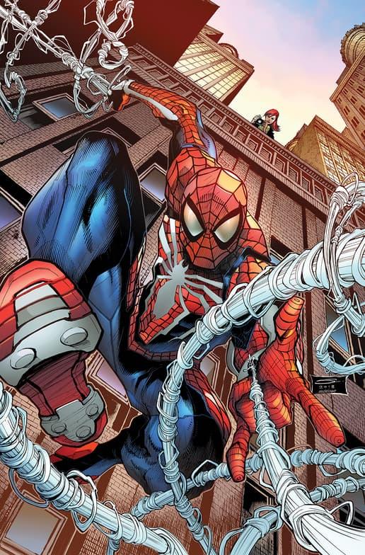 MARVEL'S SPIDER-MAN: CITY AT WAR #1 Variant Cover by Gerardo Sandoval & Erick Arciniega