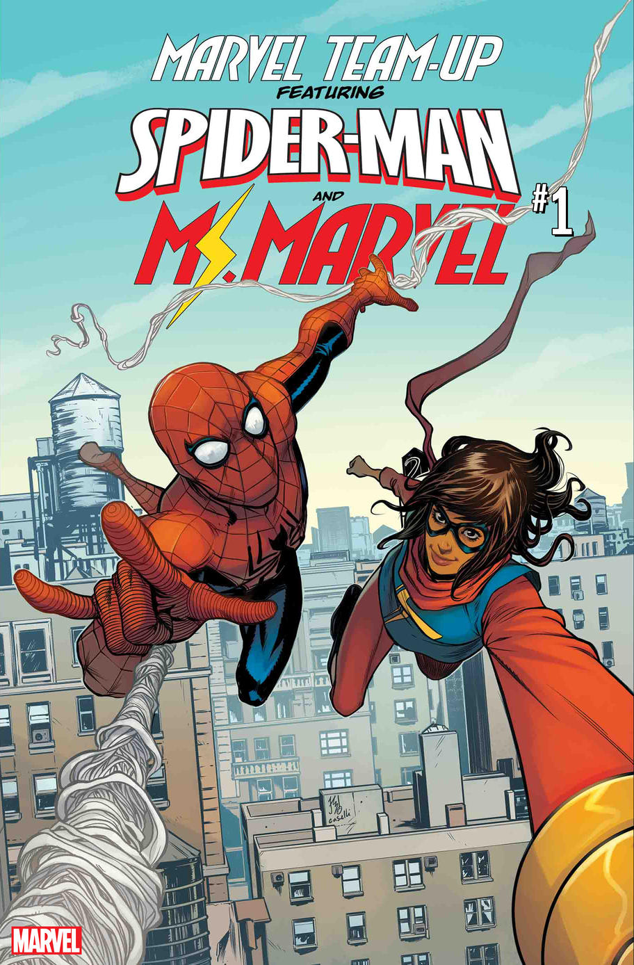 Marvel Team-Up cover