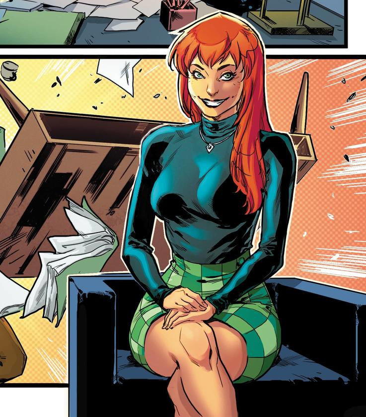 AMAZING MARY JANE #2 interior art by Carlos Gomez with colors by Carlos Lopez