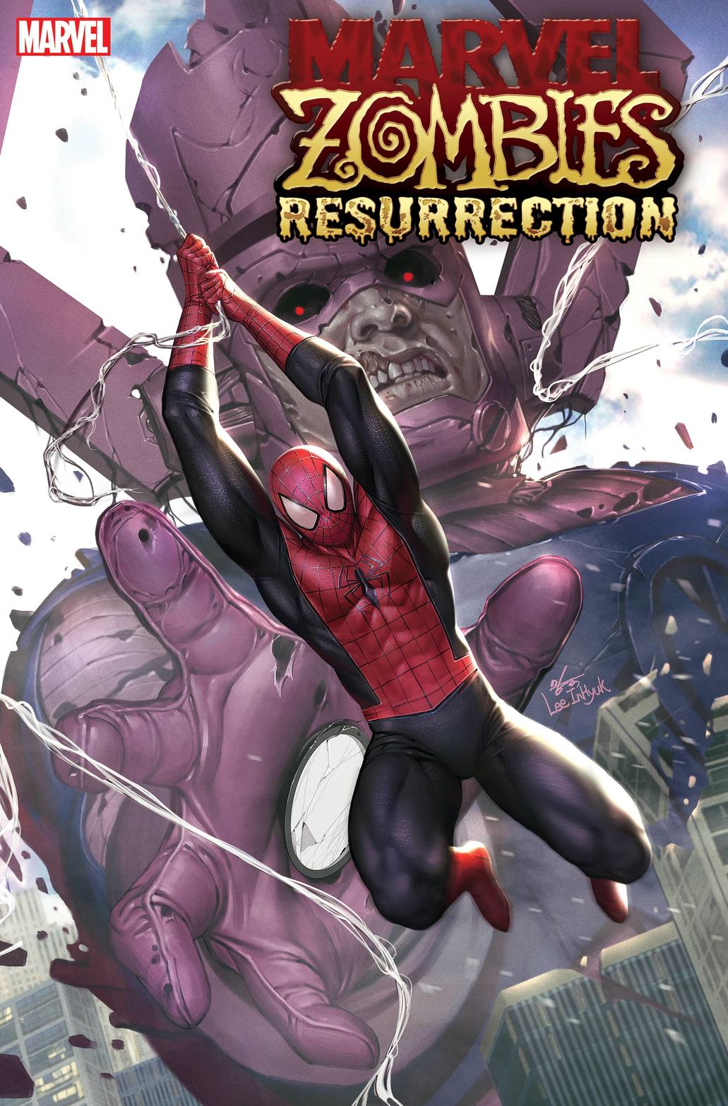 MARVEL ZOMBIES: RESURRECTION #1 cover by In-Hyuk Lee