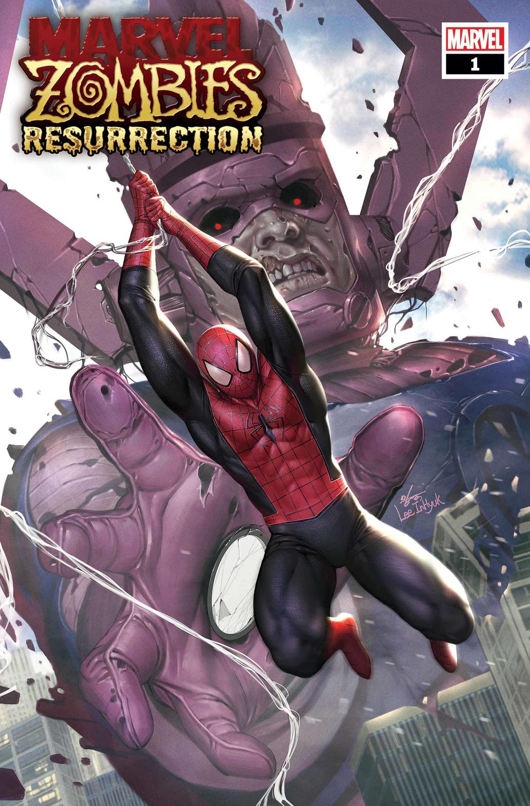 MARVEL ZOMBIES RESURRECTION #1 WRITTEN BY PHILLIP KENNEDY JOHNSON, ART BY LEONARD KIRK, COVERS BY INHYUK LEE