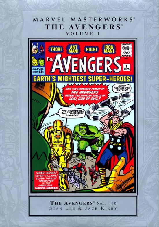 The Avengers' assemble for the very first time!