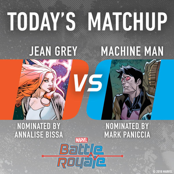 Jean Grey vs. Machine Man