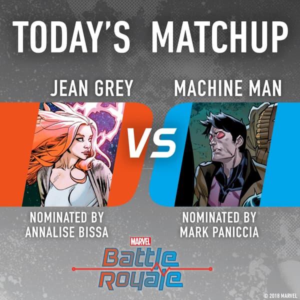 Jean Grey vs. Machine Man
