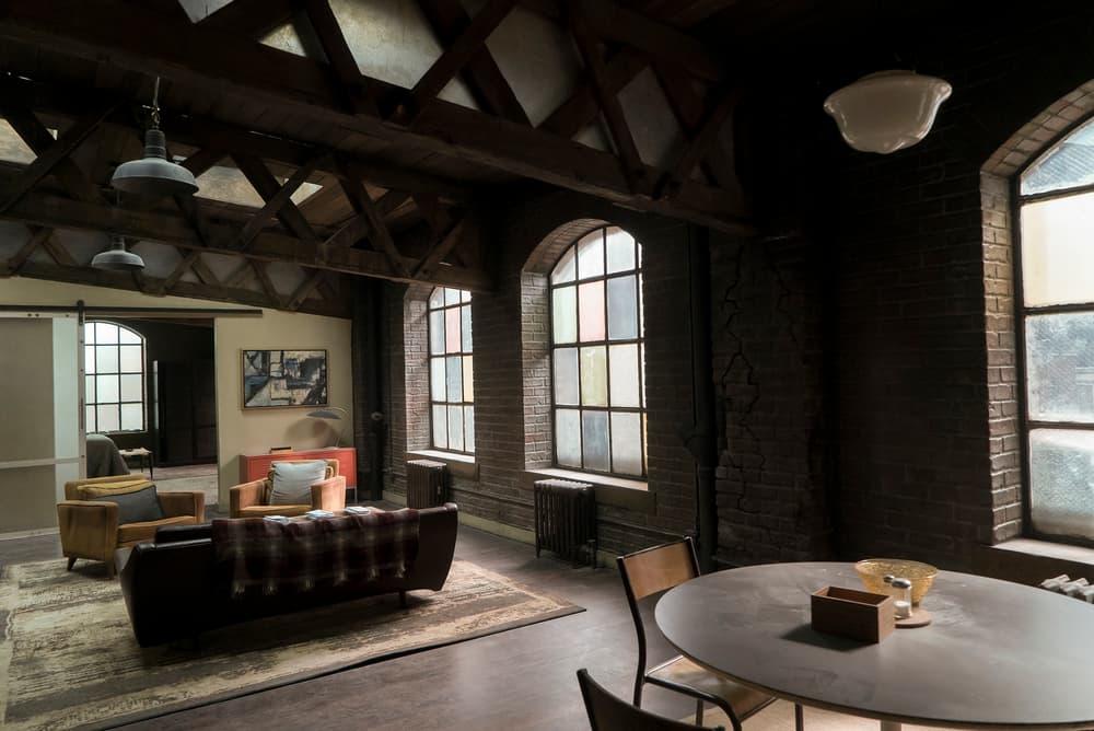 Netflix Marvel Daredevil set Matt Murdock apartment