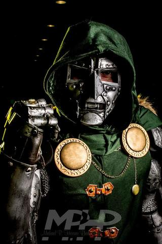 Matt Wilhelm AKA Wicked Dreams Cosplay as Doctor Doom
