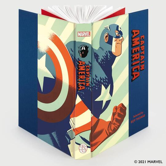 Captain America cover by Michael Cho