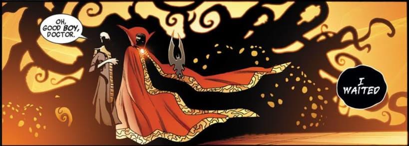 Strange summons the Shuma-Gorath