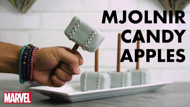 Mjolnir Candy Apples