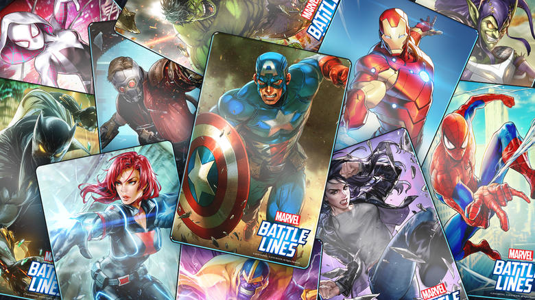 MARVEL Battle Lines strategic card game
