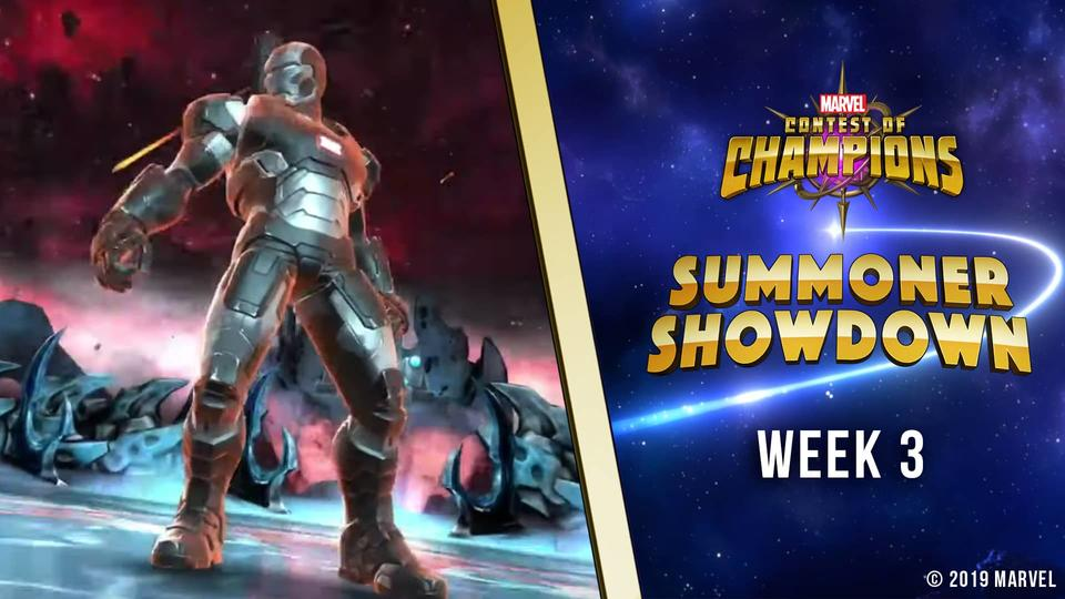 Marvel Contest of Champions Summoner Showdown Week 3