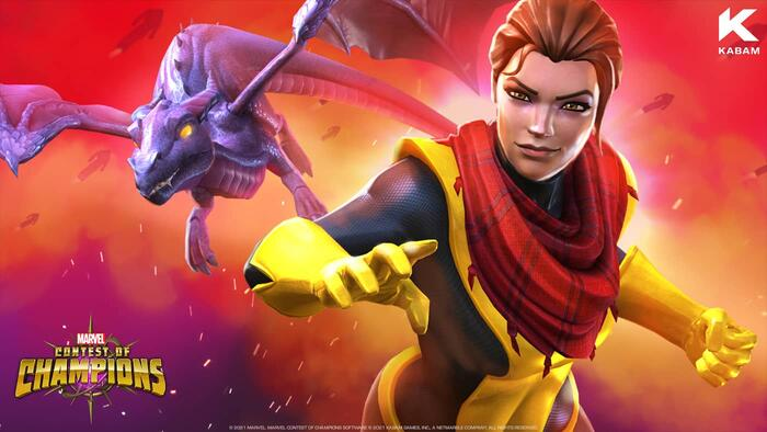 KITTY PRYDE PHASES INTO MARVEL CONTEST OF CHAMPIONS
