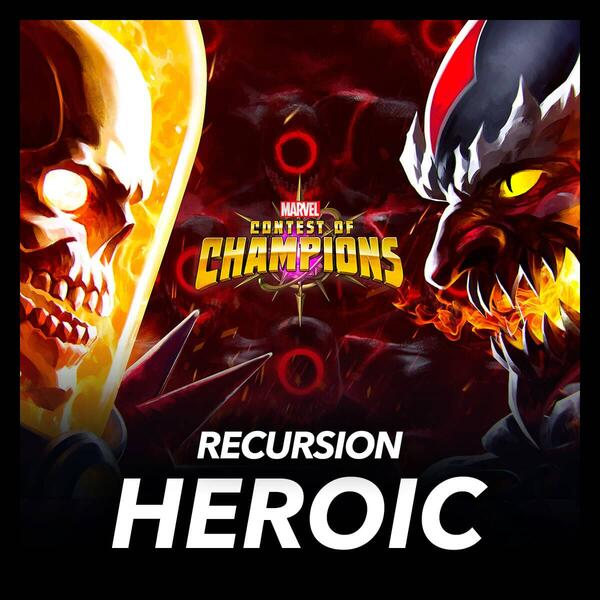 Marvel Insider Marvel Contest of Champions The Recursion Event Quest Heroic Quest Earn +55,000 Points