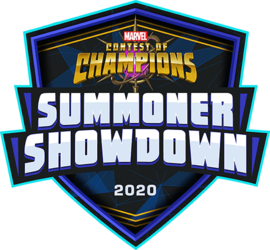 Marvel Contest of Champions: Summoner Showdown 2020 Logo