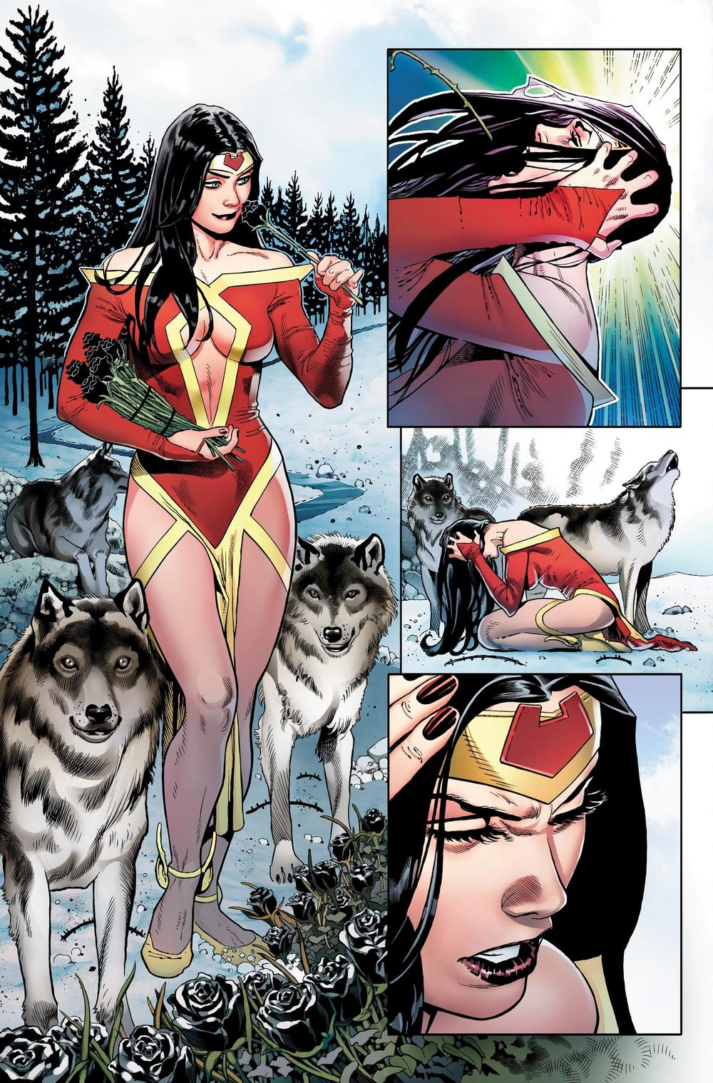 MARVEL COMICS PRESENTS #6 Interior art by Paulo Siqueira with inks by Oren Junior, and colors by