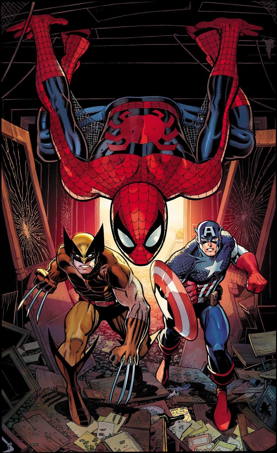 Cover of Marvel Comics Presents #3
