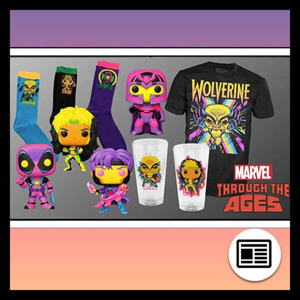 Target Black Light Funkos and Accessories.
