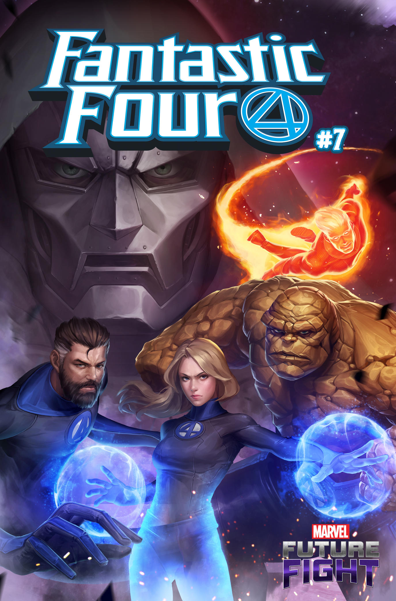 Marvel Future Fight (FANTASTIC FOUR #7)