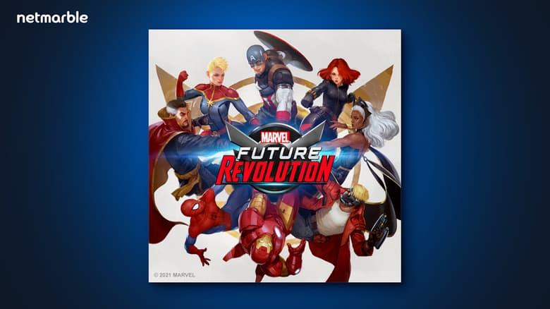 MARVEL Future Revolution Orchestra OST Original Soundtrack Cover Art