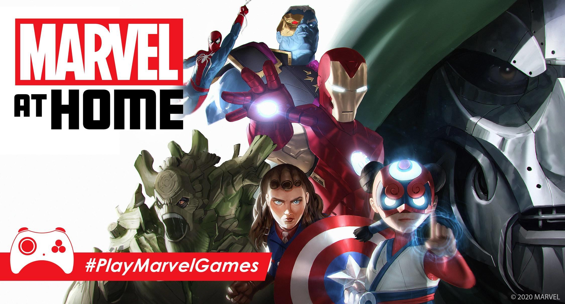 Close Out the Month with the Latest Play at Home Updates from Marvel Games thumbnail