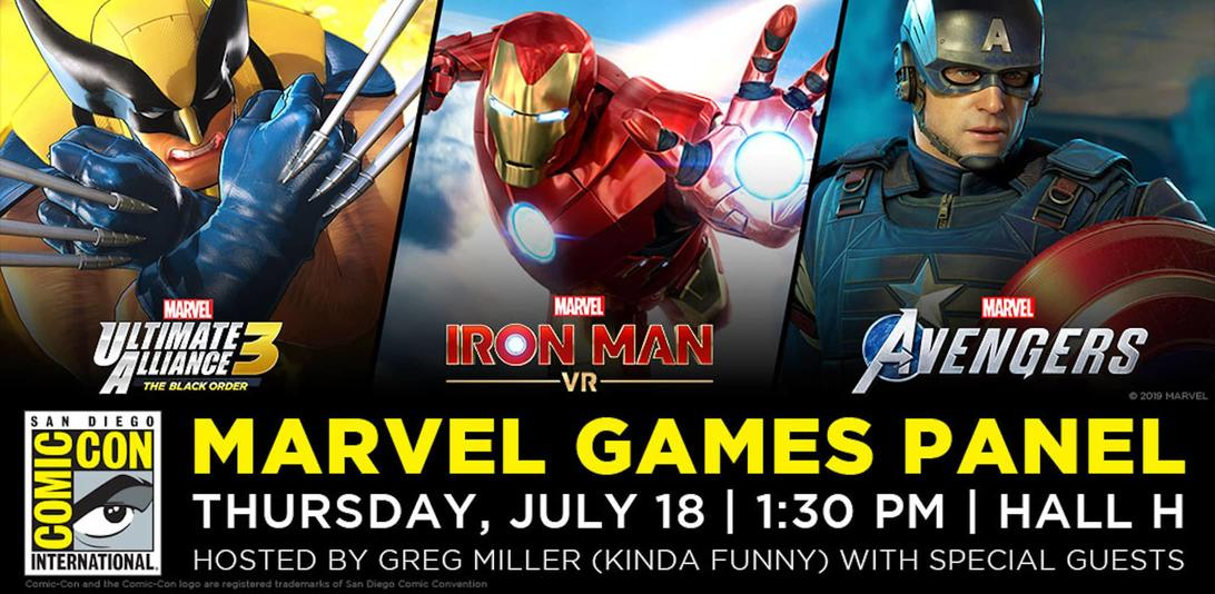 Marvel Games SDCC 2019
