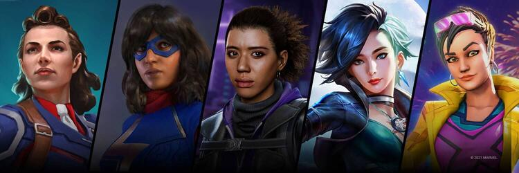Marvel Games Women's History Month