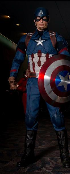 Michael T. Davis AKA WildCapKY as Captain America