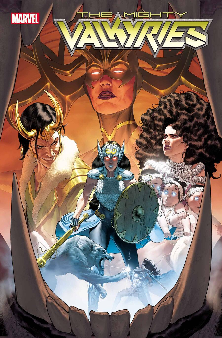 'The Mighty Valkyries' #1