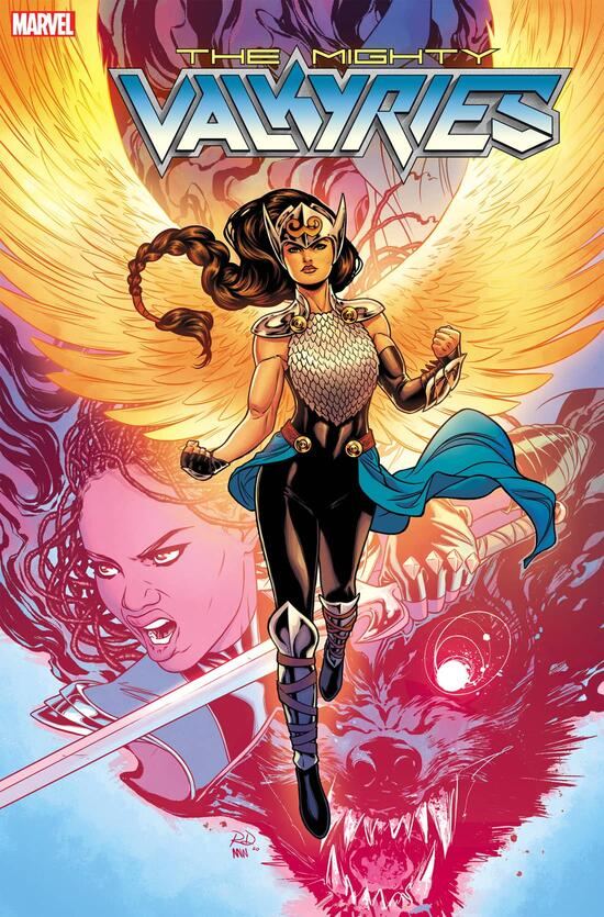 The Mighty Valkyries variant cover by Russell Dauterman