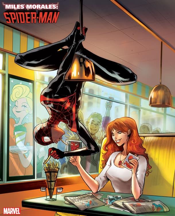 MILES MORALES: SPIDER-MAN #11 by Mirka Andolfo