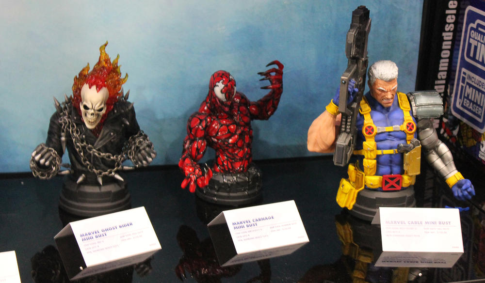 Marvel Mini Busts