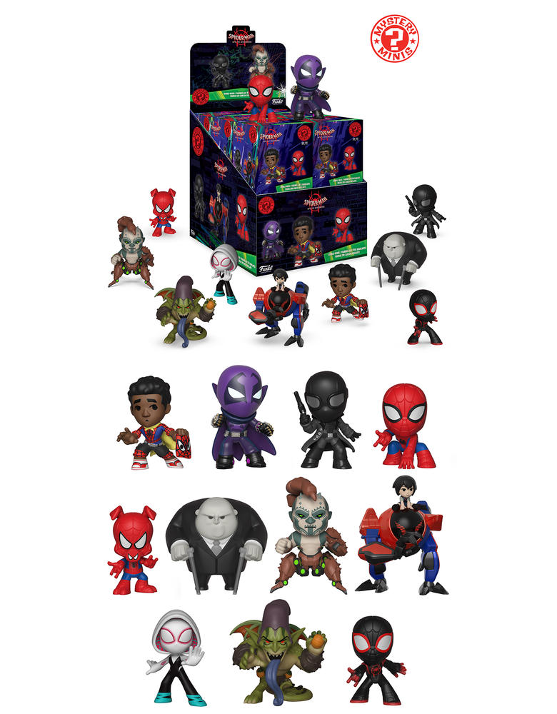 Spider-Man: Into the Spider-Verse Mystery Mini