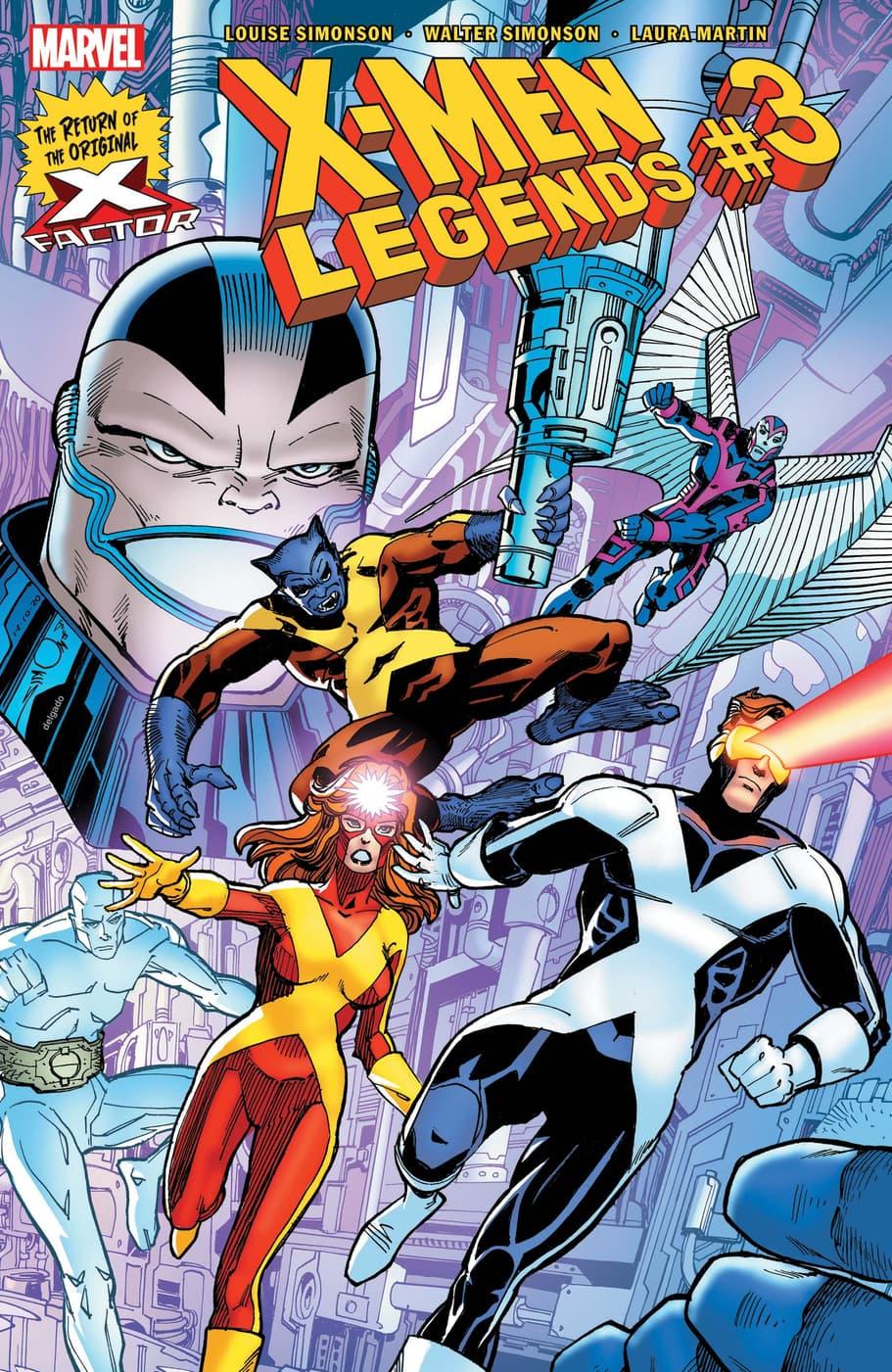 X-MEN LEGENDS #3 cover by Walter Simonson