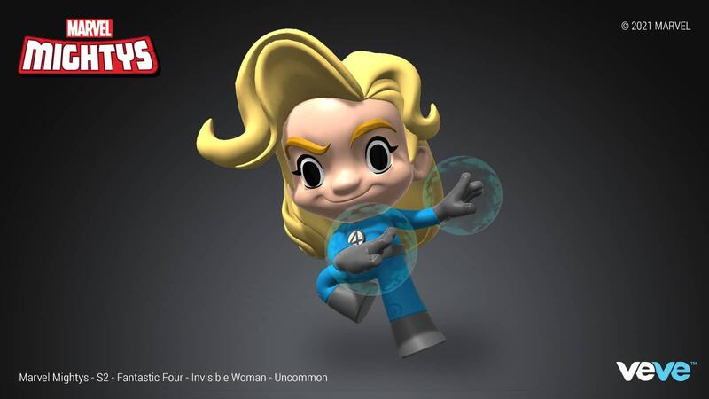 INVISIBLE WOMAN (UNCOMMON) VeVe