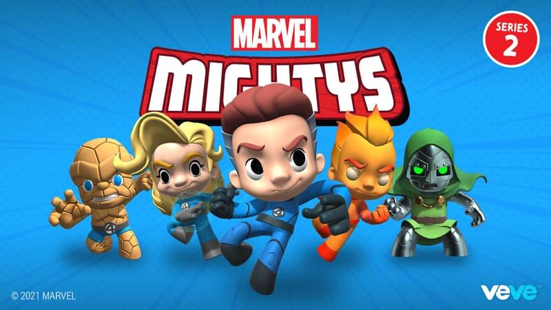 Fantastic Four Marvel Mightys VeVe
