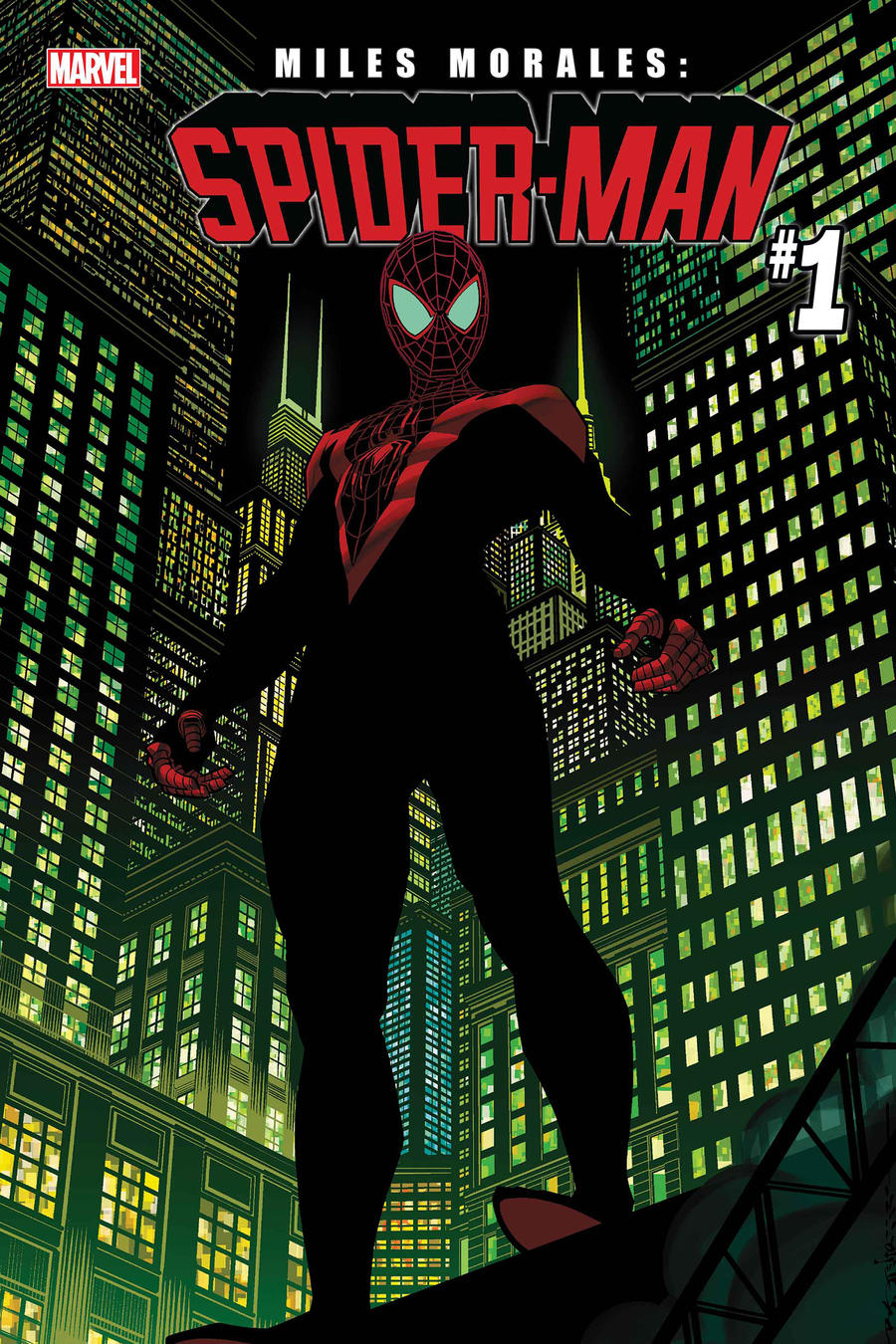 Miles Morales Spider-Man cover