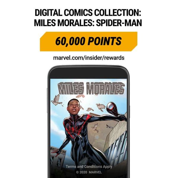 Marvel Insider Digital Collection Miles Morales: Spider-Man