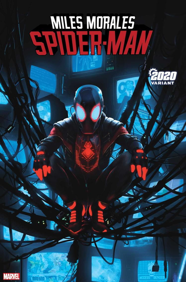 MILES MORALES: SPIDER-MAN #13 2020 VARIANT by RAHZZAH