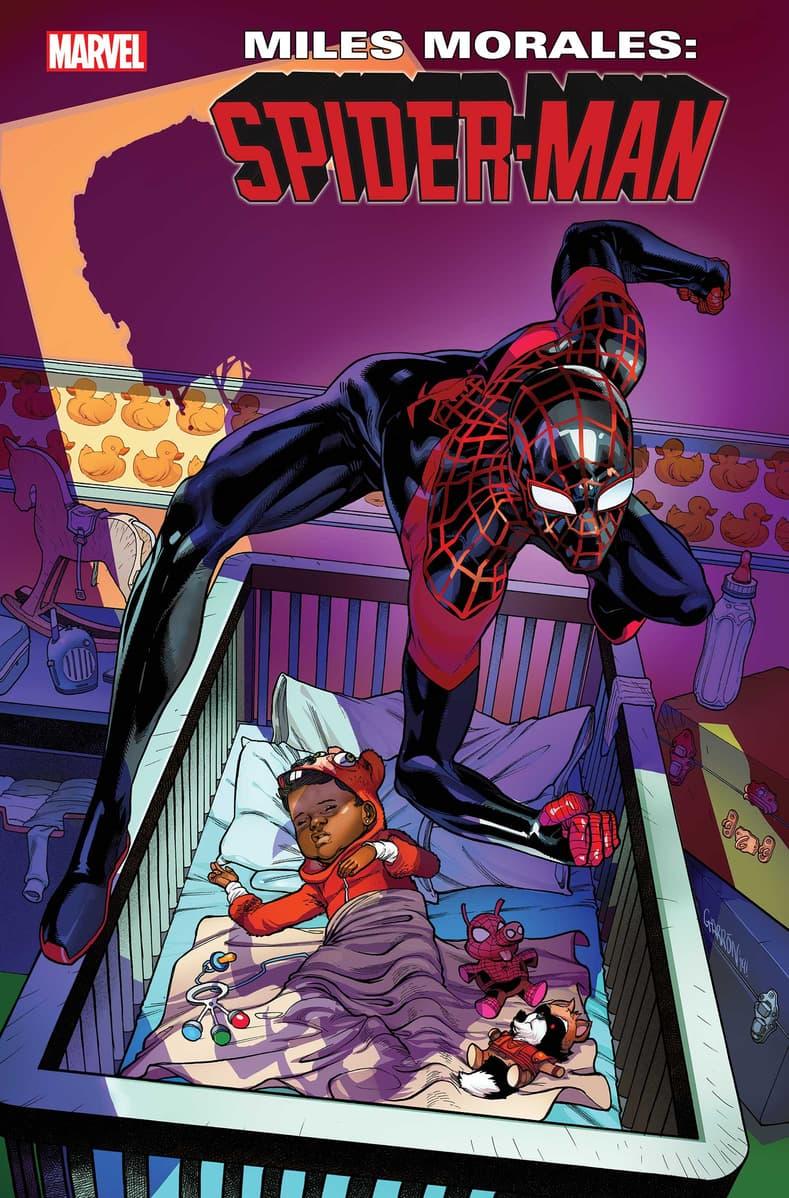 MILES MORALES: SPIDER-MAN #16 cover by Javier Garrón