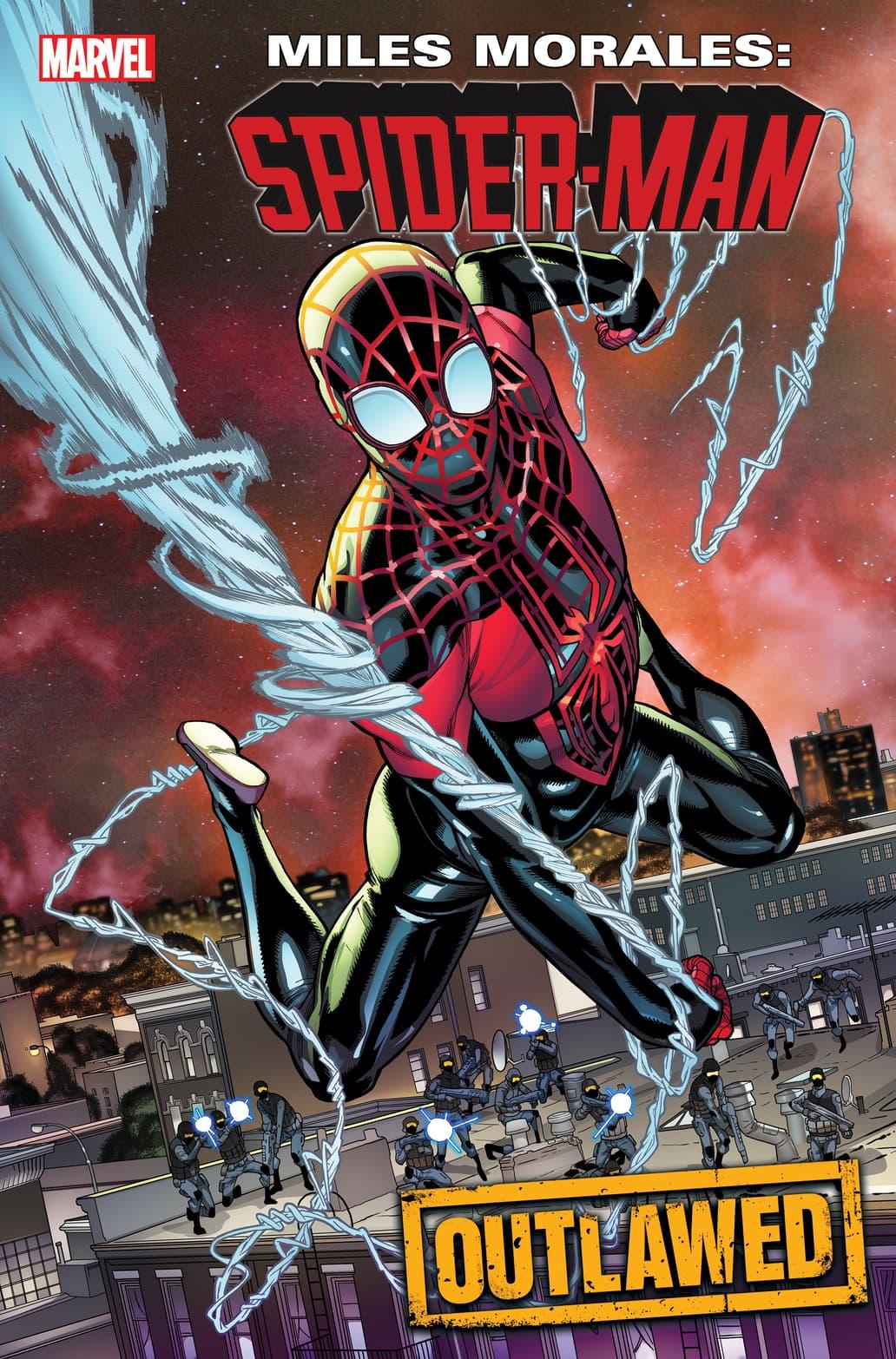MILES MORALES: SPIDER–MAN #17 cover by Javier Garrón