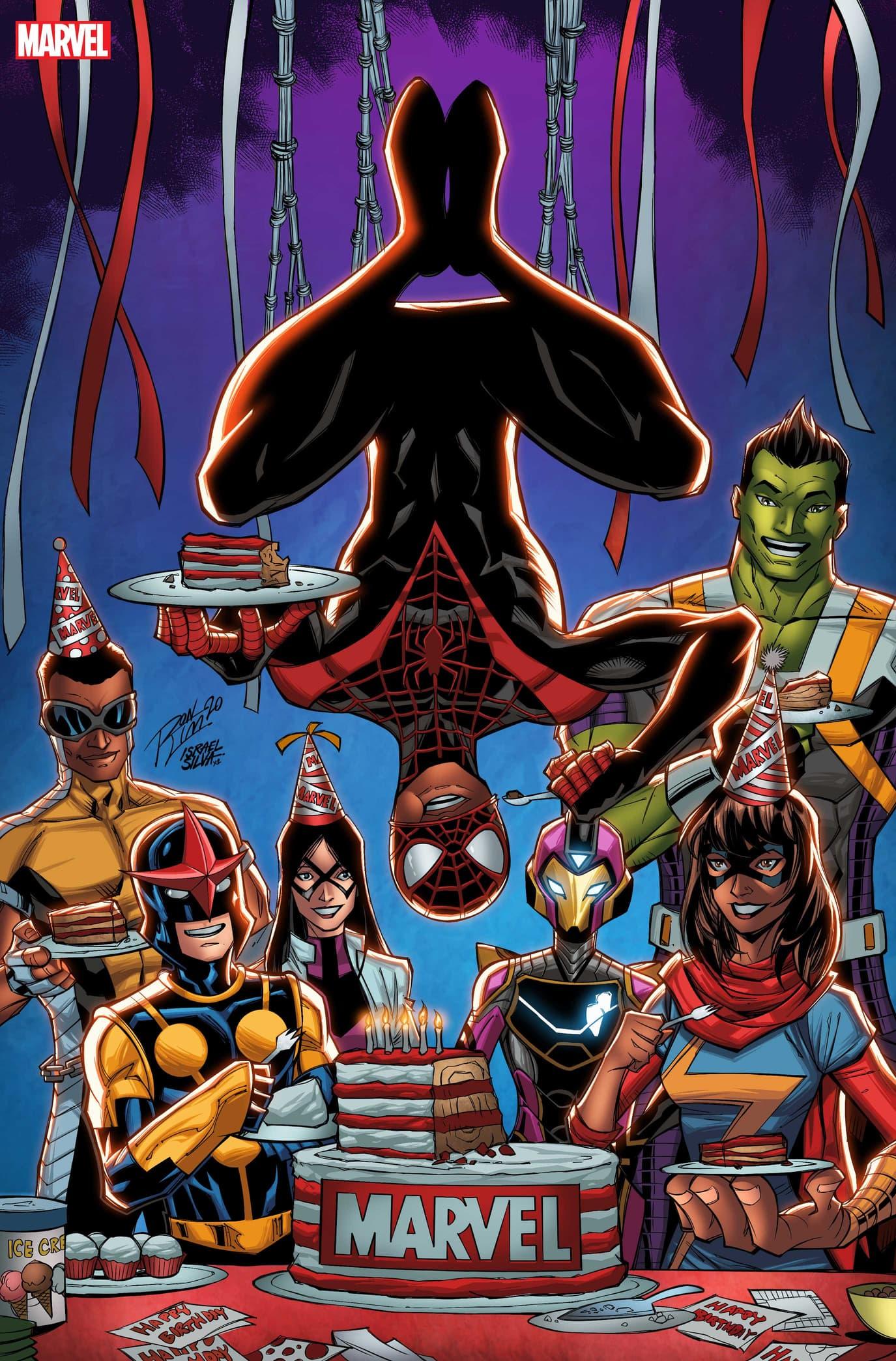 Marvel 81st Birthday Art by Ron Lim